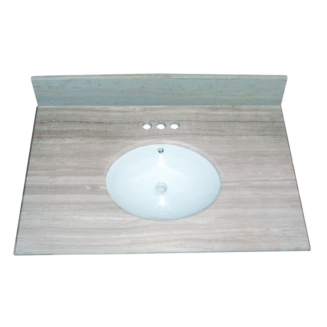 bowl single white vanity marble top inch design x house by