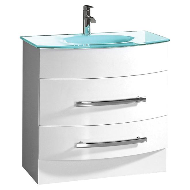 Meuble lavabo « Mirabel », 31,5 po, blanc