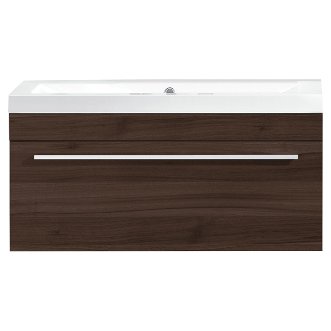 "Vanity and Sink - 1 Drawer - 30 1/8"" - Alamo Oak"