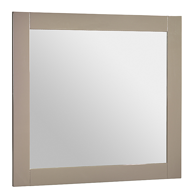 Luxo Marbre Bathroom Mirror - Classic - Light Grey CLASSICMR30LG