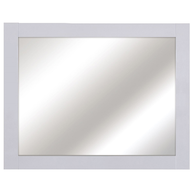 Mirror from the Classis Collection -  36'' x 29.5'' - White