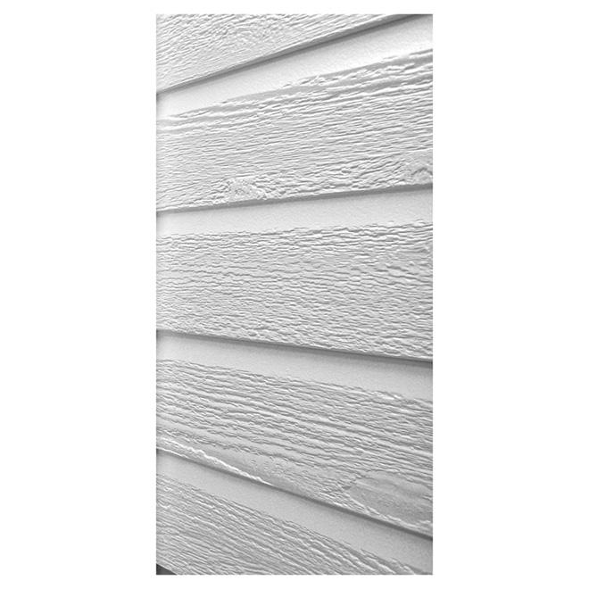 Revêtement extérieur, 1/2'' x 11'' x 144'', blanc polaire