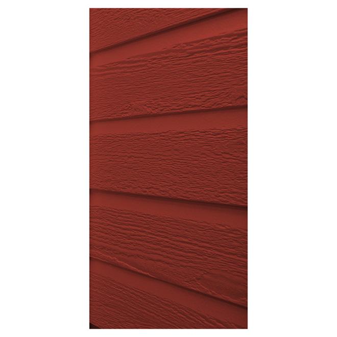 Revêtement extérieur, 1/2'' x 11'' x 144'', rouge campagne