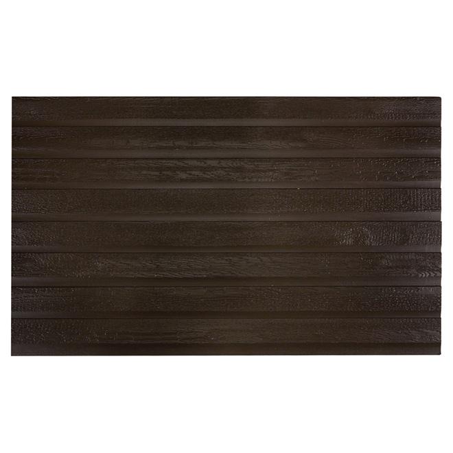 Revêtement de bois, 12', brun