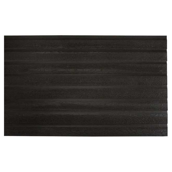 Revêtement de bois, 12', rouille