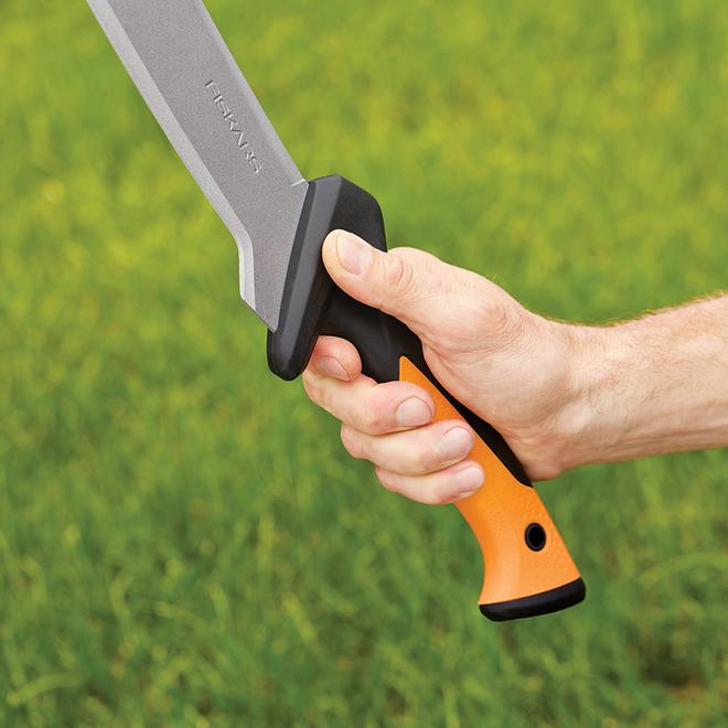Machette à débroussailler avec lame en acier, 24 po