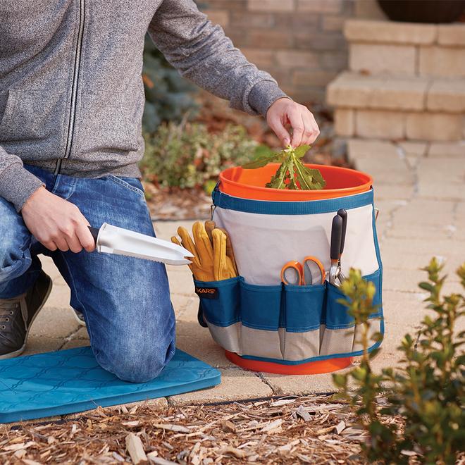 Porte-outils pour seau de jardin, 19 l