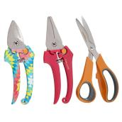 Gardening Tool Pruner/Snip/Shear Set - 3 Pieces