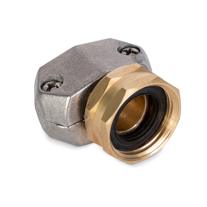 Replacement Female Coupling for Garden Hose - Zinc/Brass