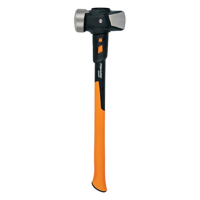 Masse IsoCore de Fiskars 24 po 8 lb, orange et noir