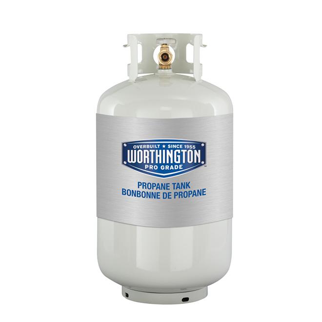Bonbonne de gaz propane réutilisable, 30 lb