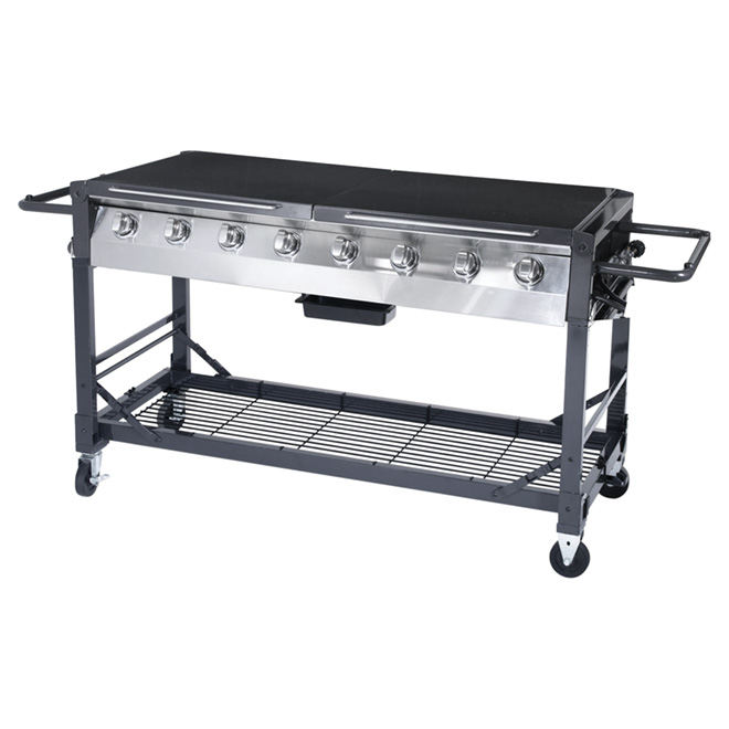 Propane Gas Barbecue - 116,000 BTU - 1000 sq.in.
