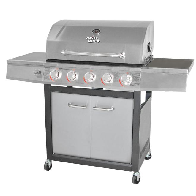 Propane Gas Barbecue - 60,000BTU - 715sq.in.
