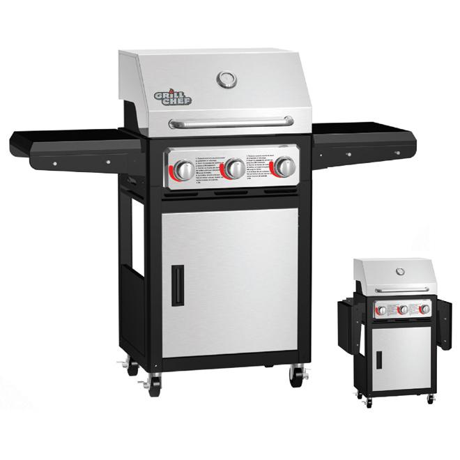 Propane Gas Barbecue - 36,000BTU - 539sq.in.