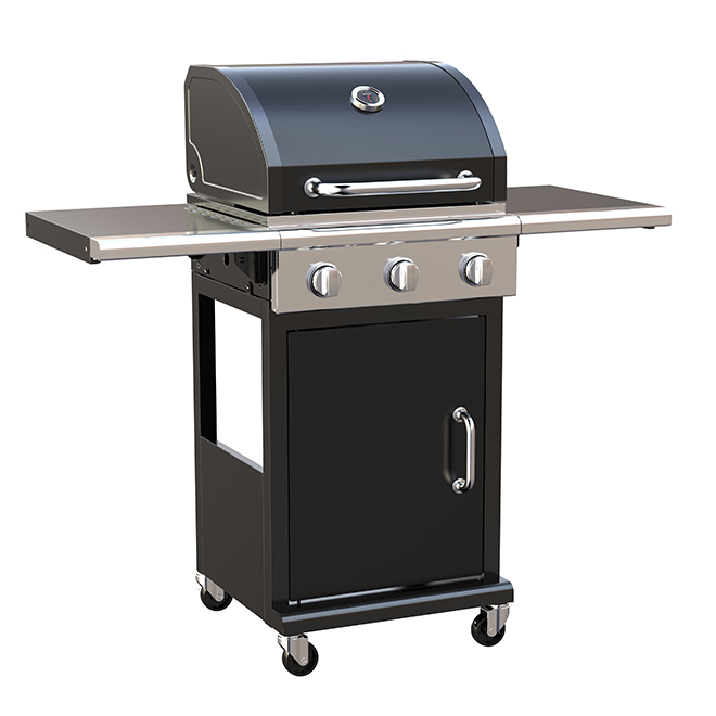 Propane Gas Barbecue - 460 sq. in. - Black