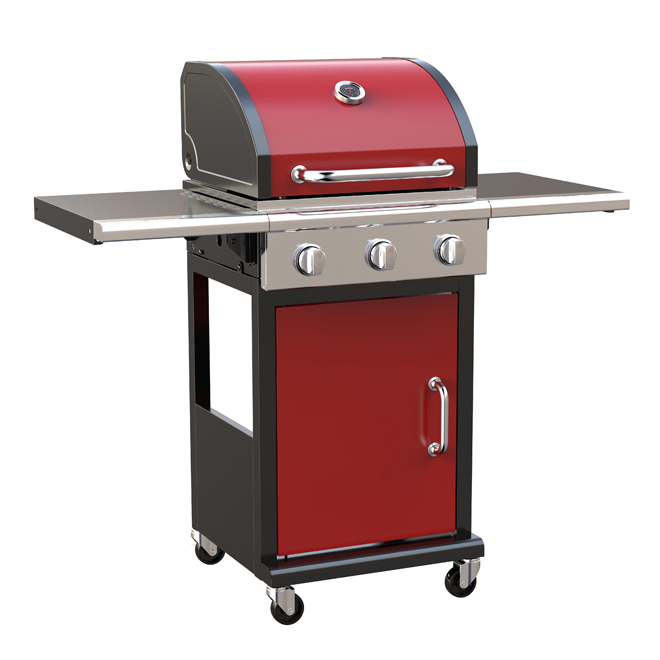 Propane Gas Barbecue - 463 sq. in. - Red