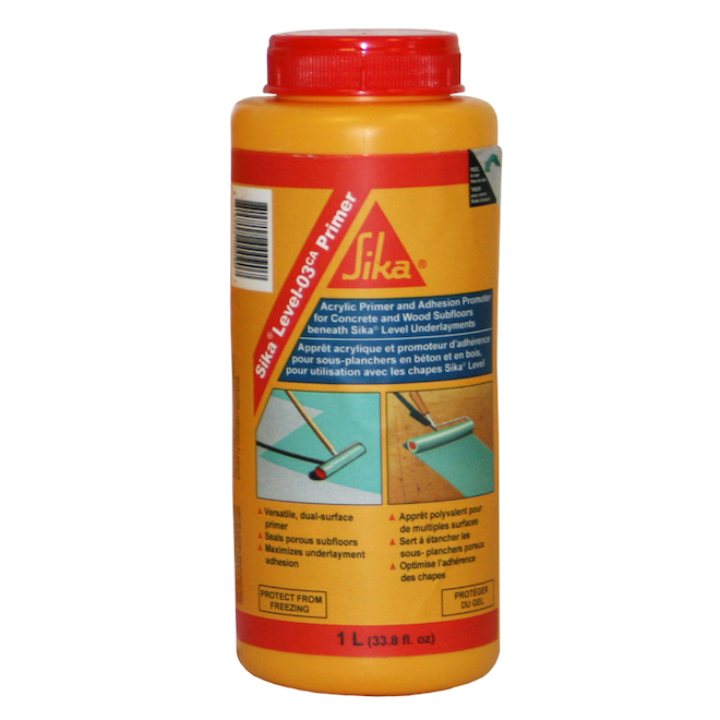 Acrylic Primer for Concrete and Wood Subfloors, 1 L