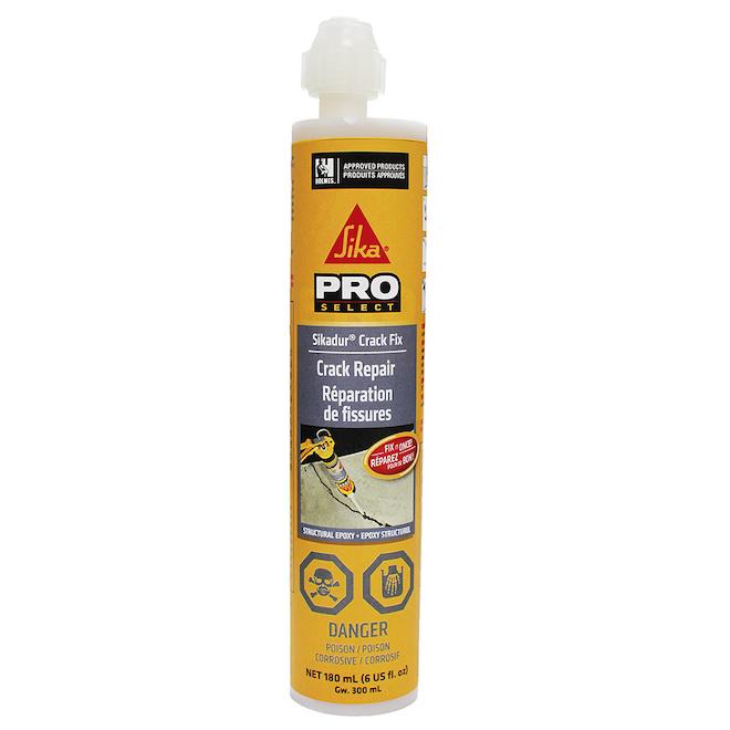 Époxy pour réparation de fissures Sikadur(MD), 180 ml, ambre