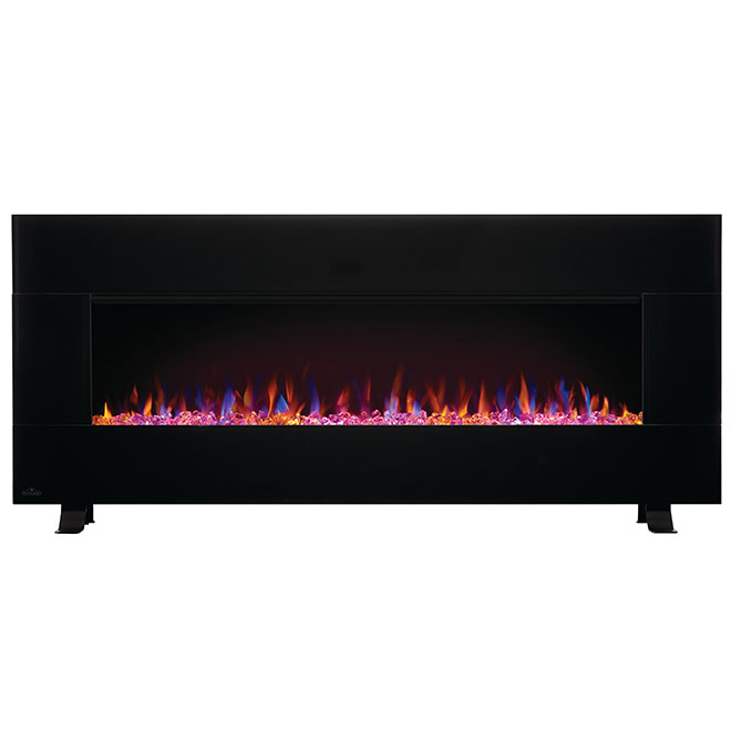 Napoleon Electric Fireplace with Bluetooth Speaker - 400 sq. ft. - 50-in x 20.5-in - Black