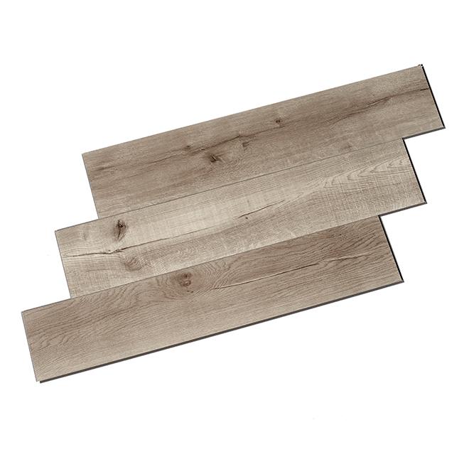 """Plancher en vinyle """"True Grout"""", 7 mm, 12/bte, Pacifica"""