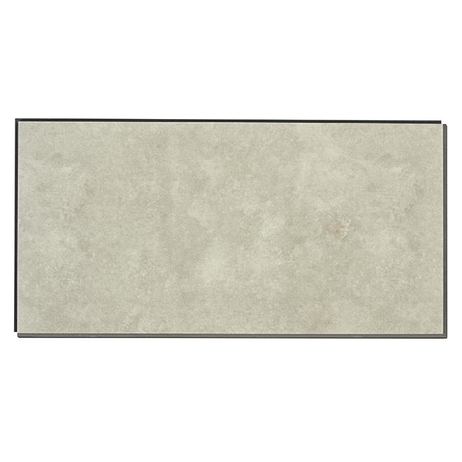 True Grout Vinyl Floor Tiles Mm Box Cirrus RONA - How many floor tiles come in a box