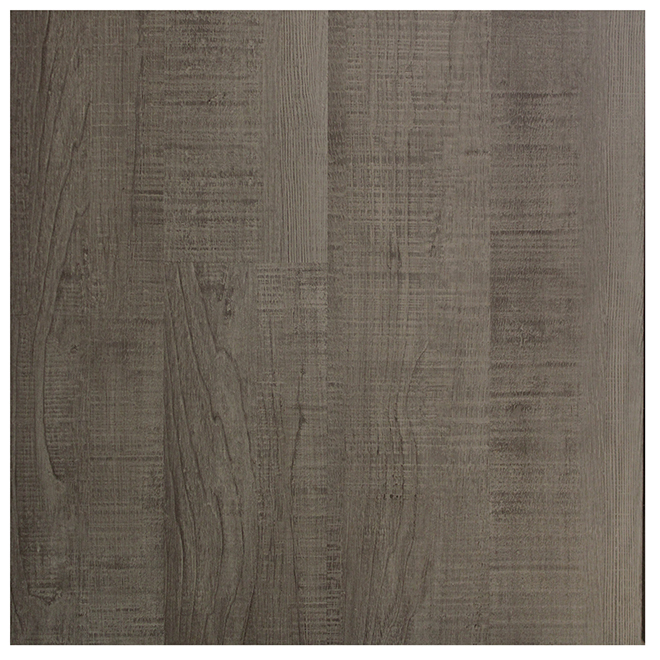 "Vinyl Planks with Pad - 5 1/2"" x 48"" - Grey - 20.43 sq. ft./Box"