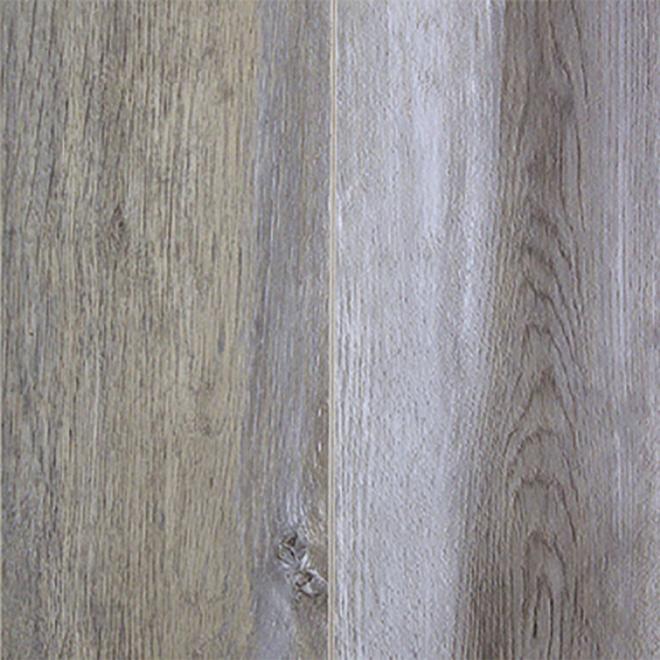 Plancher stratifié en HDF, 12 mm, argent, 19,96 pi²