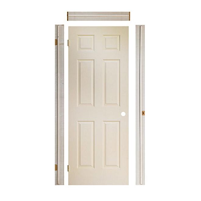 Porte 6 panneaux «Fast Fit»