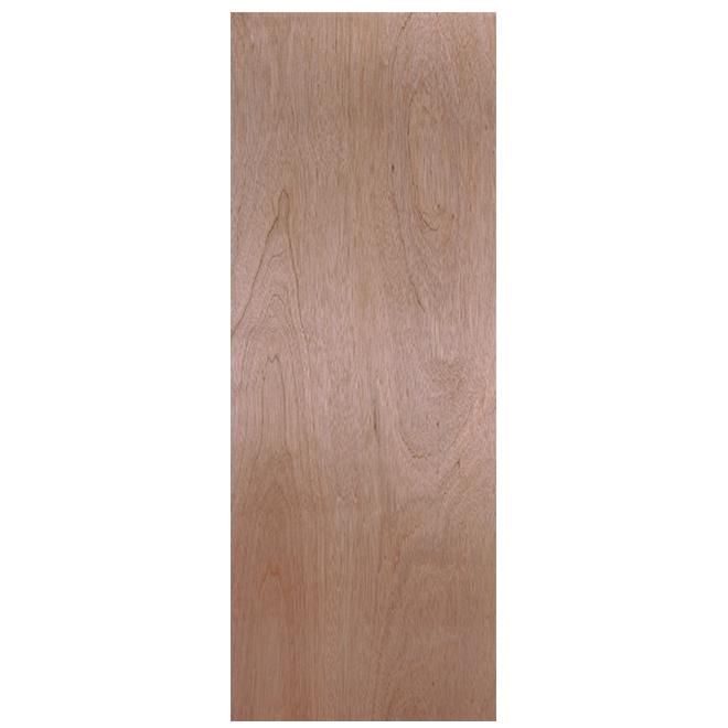 """""""Lauan"""" Door Slab - Hollow Core - 30 in x 80 in x 1 3/8 in - Mahogany"""