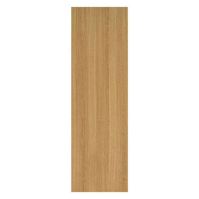 Porte Metrie, 24 po x 80 po x 1 3/8 po, chêne, naturel