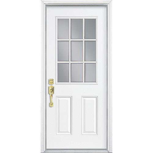 Pre-Hung Steel Door