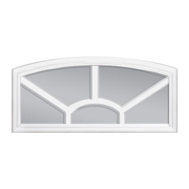 Masonite Camber Exterior Door Lite 22 X 10 White
