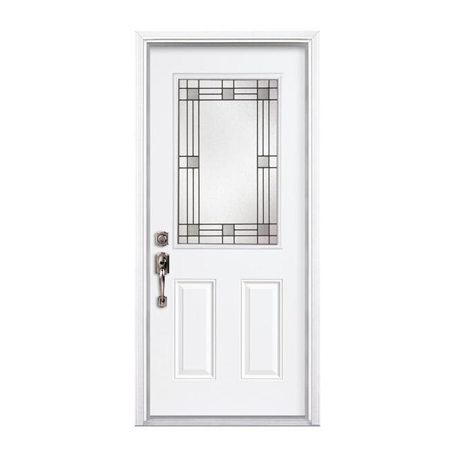 2 panel steel door rona