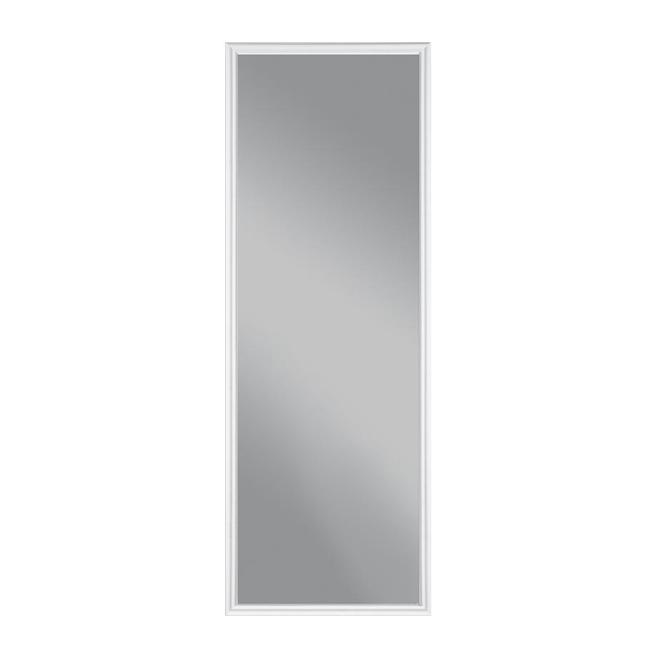 """Grande insertion pour porte extérieure, 22"""" x 64"""", blanc"""