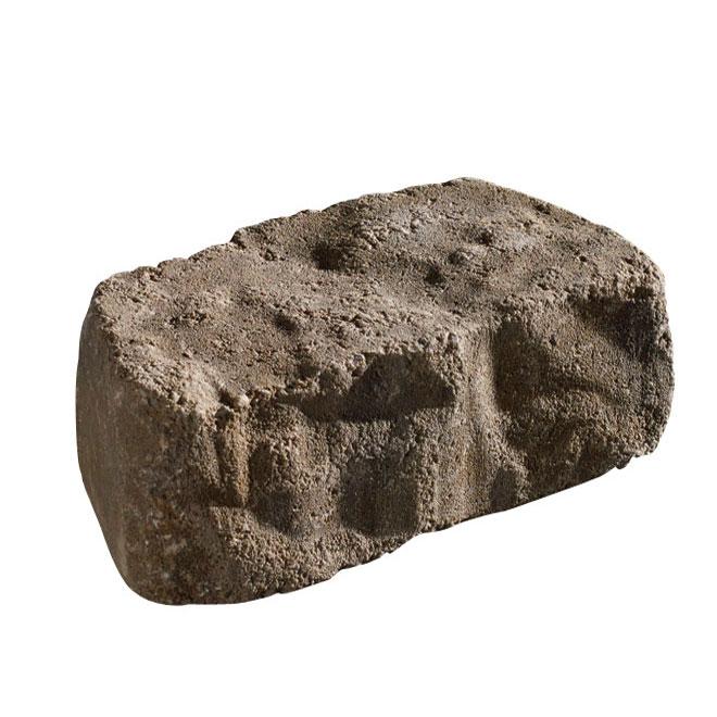 Bloc pour mur « Beltis », 7,25 po x 11,5 po, beige/noir