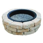 Fire Pit Kit - 43'' - Beige Shade