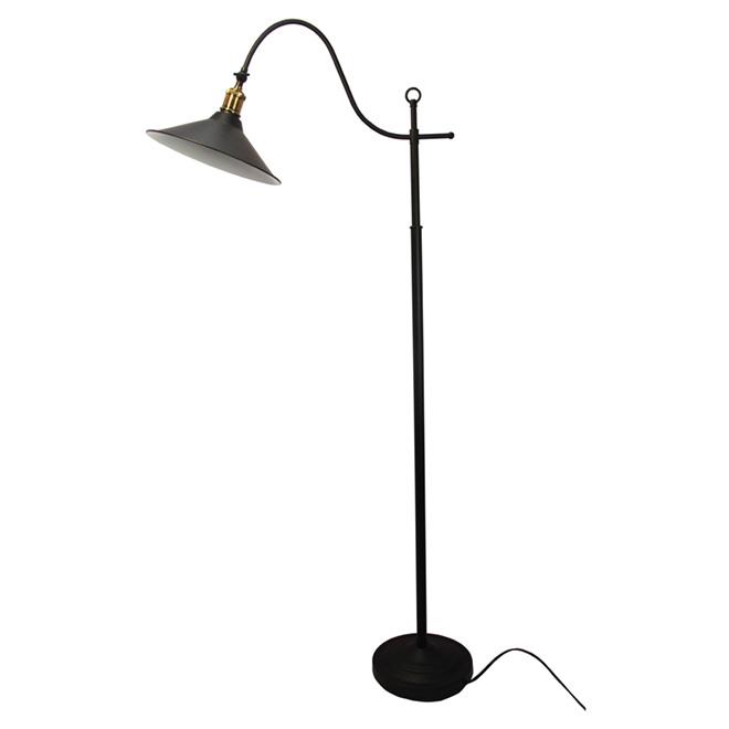"""Lampe sur pied 60"""", noir"""