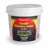 Castable refractory cement 3 lb
