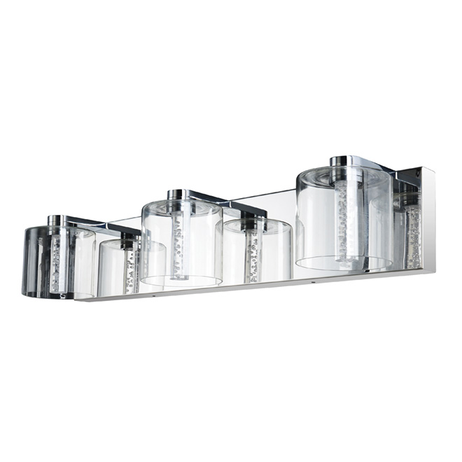 Fernandel 3 lights wallsconce chrome