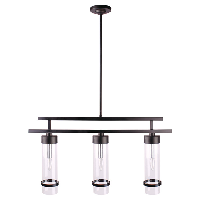 Edimbourg 3 light pendant light