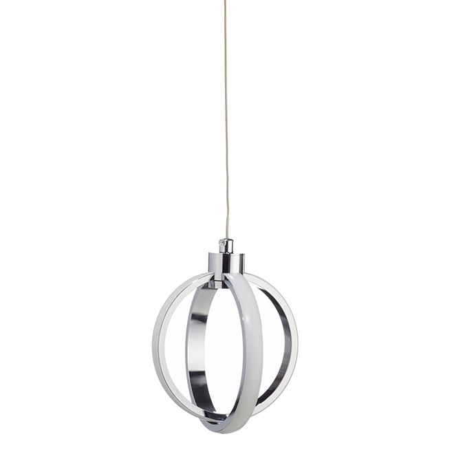 Del Polo 1-Light Pendant - 20 W LED - Chrome