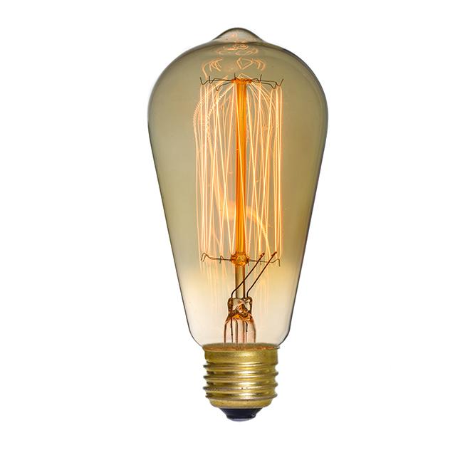 Ampoule rétro pour guirlande, culot E26, 25 W