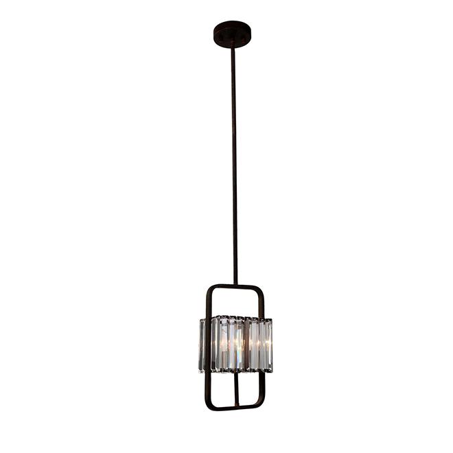 Luminaire suspendu «Karington», 60 W, globe