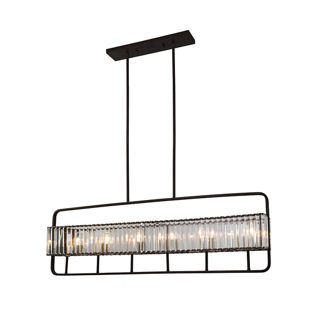 """Karington"" 5-Light Pendant Light - 40 W - Orb"