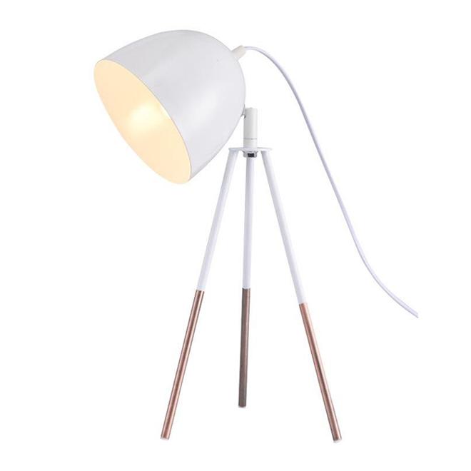 Lumirama Gaga Tripod Lamp - Metal - White and Copper