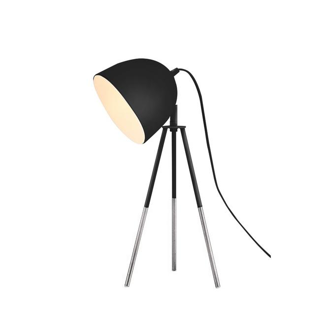 Lumirama Gaga Tripod Lamp - Metal - Black and Chrome