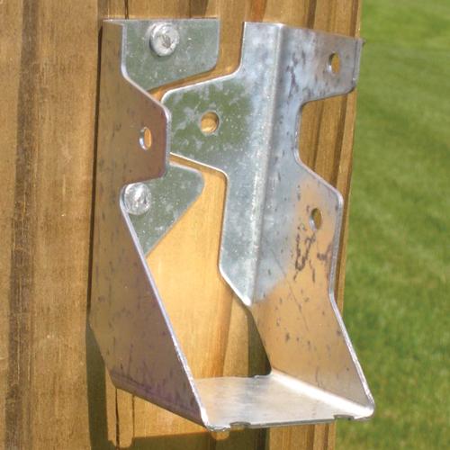 Support pour traverse de clôture, 2 x 4 po