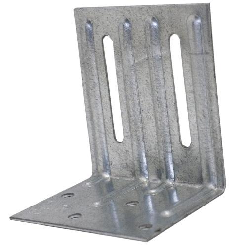 """Attache à double fente pour toit en acier de 2 1/2"""""""