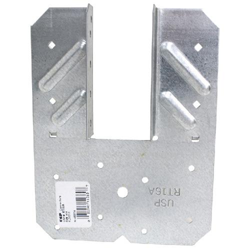 """Ancrage en acier galvanisé 6 1/2"""" x 5"""" x 6 1/2"""" boîte de 50"""