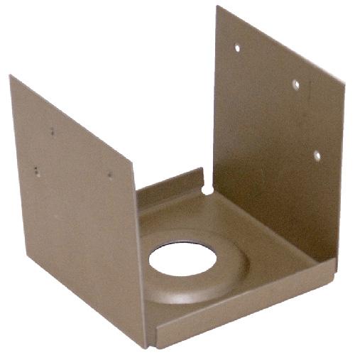 Ancrage de poteau « Série PA », 4 x 4 po